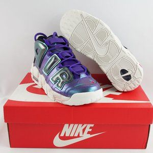 Nike Air More Uptempo Athletic Sneakers Youth 7Y